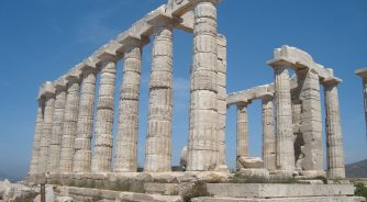 The Temple of Poseidon at Sounion (II)